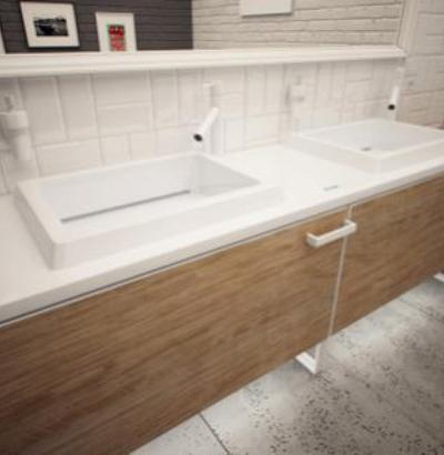 Umywalki na wymiar Luxum