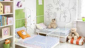 Malowanie pokoju dziecięcego - zdrowe farby do ścian. GALERIA aranżacji