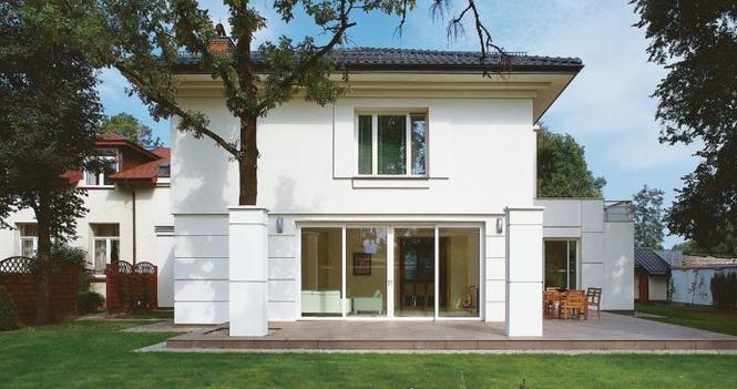 Ładny dom inspirowany Afryką