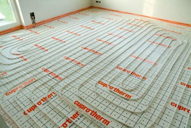 Ogrzewanie podłogowe koszt materiałów