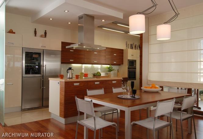 Kuchnia z jadalnią Sekrety projektowania wygodnej kuchni  Kuchnia  Murator   -> Nowoczesna Kuchnia Polączona Z Jadalnią