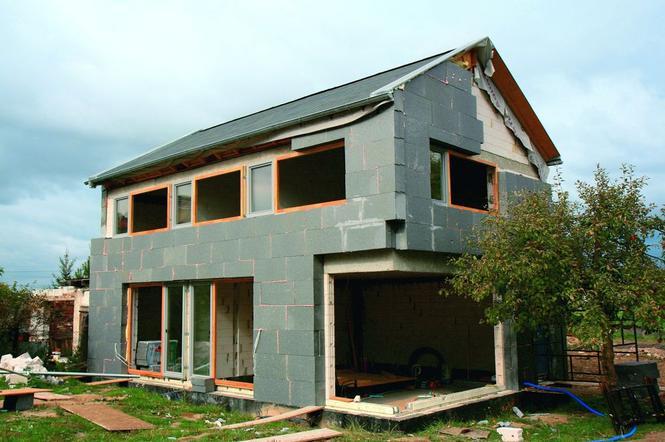 Dom pasywny w budowie
