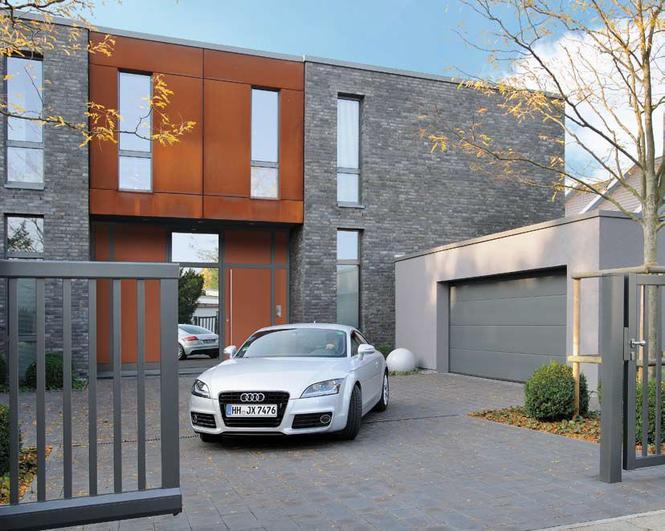 Luksusowa brama garażowa