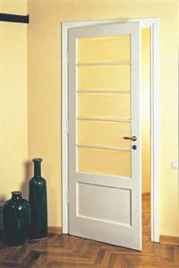 Drzwi wewnętrzne z przeszkleniami