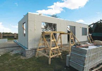 Domy prefabrykowane. System budowy ze styropbetonu