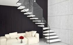 Nietypowe schody wewnętrzne: nowoczesne, eleganckie, zawieszone w przestrzeni ZDJĘCIA