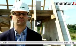 WIDEO: Ścianki kolankowe, ściany szczytowe, ściany działowe - z betonu komórkowego