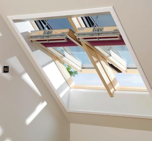 Napęd do okna dachowego
