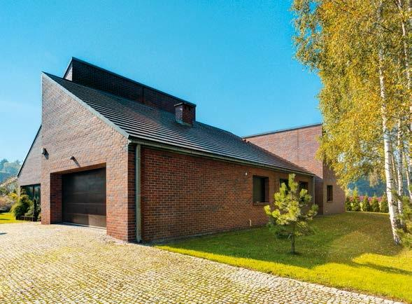 Śląski dom w holenderskim stylu