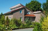 Elewacja z klinkieru - zdjęcia domów
