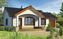 Planujesz budowę małego i taniego domu? Sprawdź kolekcję projektów niedużych domów.