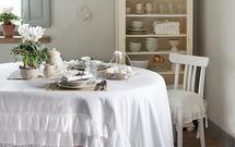 Jak udekorować świąteczny stół w stylu shabby chic? 5 podstawowych zasad