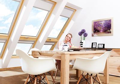 Jak okno dachowe wpływa na aranżację poddasza - GALERIA ZDJĘĆ