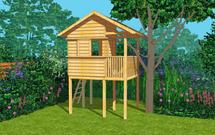 Projekt domku dla dzieci. Pobierz gotowy projekt i zbuduj dzieciom niezwykłe miejsce zabaw!