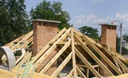 Kominy. Jak zbudować komin z cegły