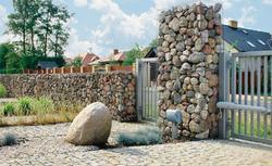 Efektowne ogrodzenia z kamienia. Co to są gabiony?