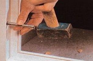 Mocowanie okna w ścianie
