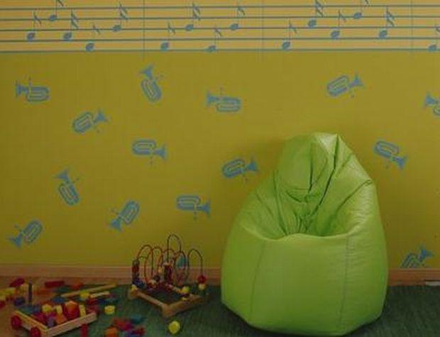 Ściany w pokoju dziecka