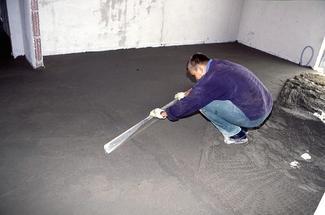 Jak wykonać podłogę na gruncie