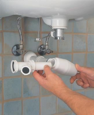 Wymiana syfonu pod umywalką