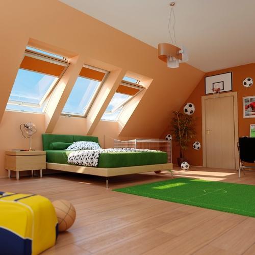 Galeria zdjęć - Jak urządzić pokój dziecka na poddaszu? 14 aranżacji pokoju dziecięcego ...