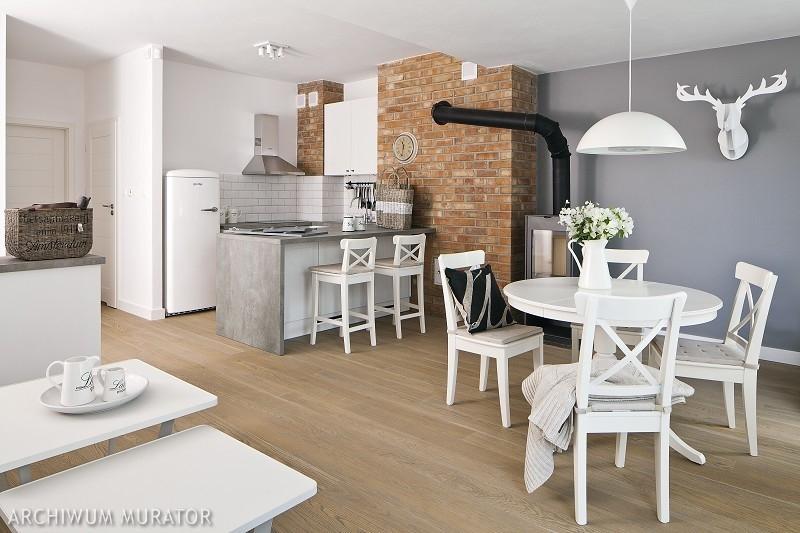Galeria zdjęć - Cegła w kuchni. 10 pomysłów na wykończenie ściany w kuchni [ZDJĘCIA] - zdjęcie ...